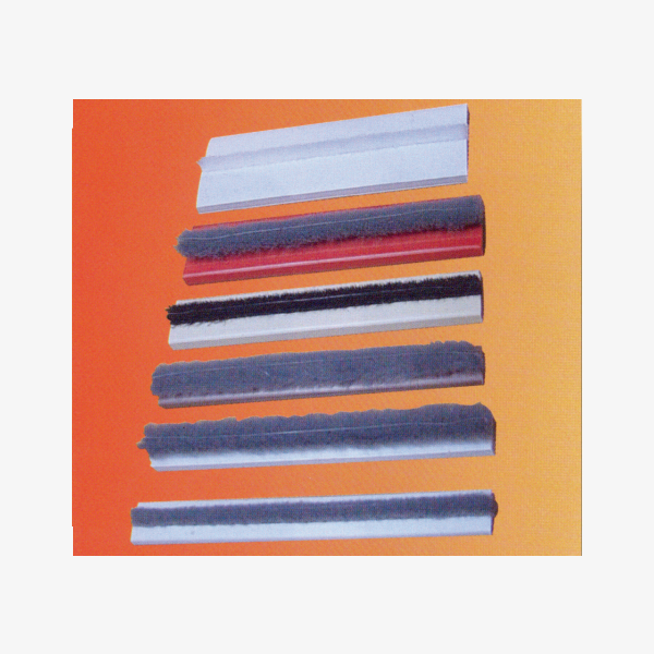 Intumescent Strip Neoprene Seal with Brush