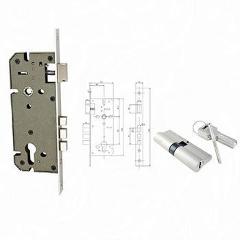 Locking System - Door Locks Cylinder